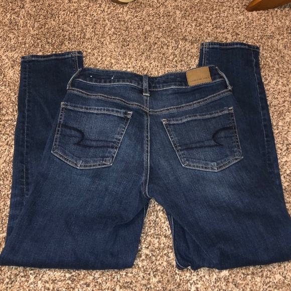 American Eagle Outfitters Denim - American Eagle High Rise Tom Girl